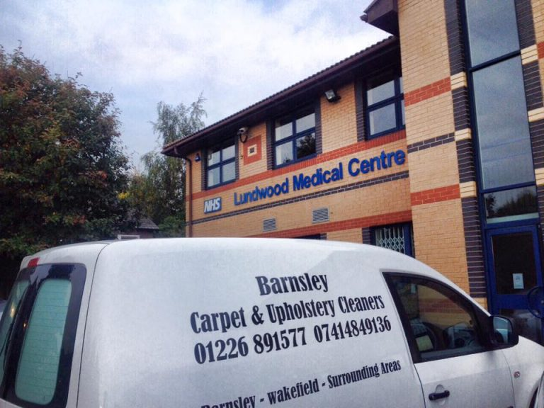 Commercial carpet cleaning in Barnsley